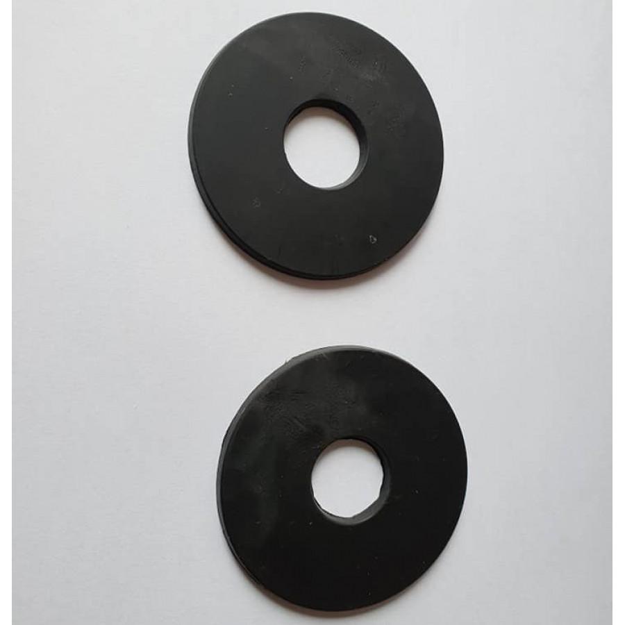 Bitschijven rubber zwart