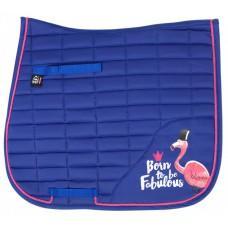 Pfiff dressuur sjabrak Fabulous Flamingo blauw