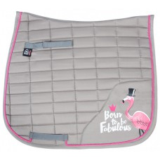 Pfiff dressuur sjabrak Fabulous Flamingo grijs