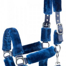 Pfiff halster Cosy blauw