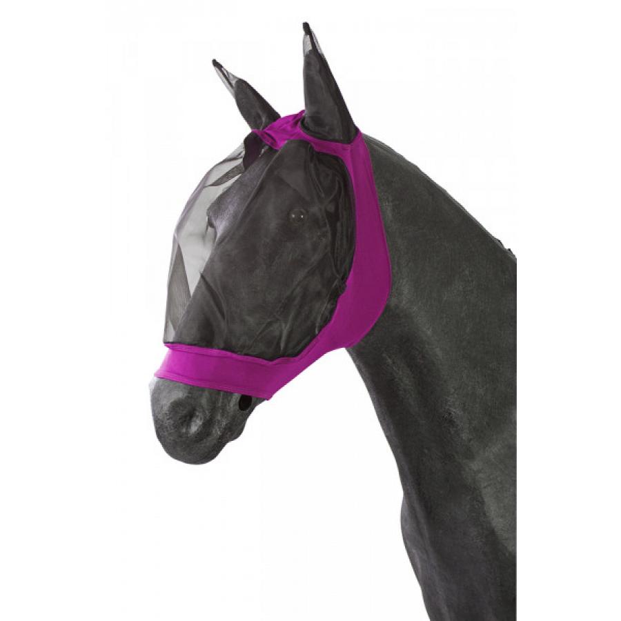 Pfiff elastisch vliegenmasker roze